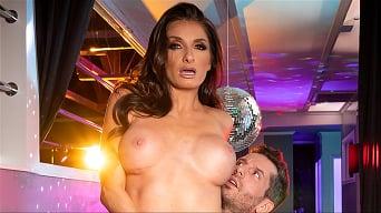 Silvia Saige in 'Loves Clubbing'