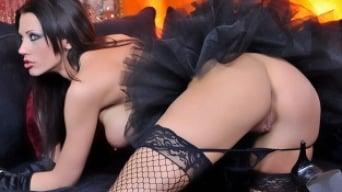 Tanya James in 'Halloween Slut'
